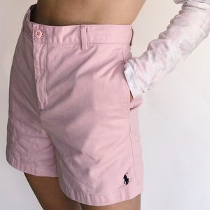 Vintage high waisted pink shorts!